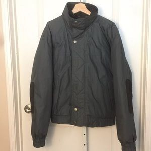 Vtg Members Only Puffer Down Jacket